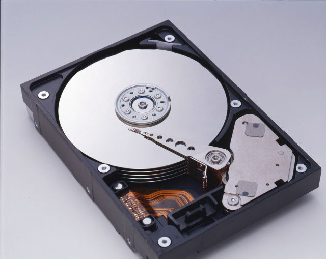 how to use hard disk on modem