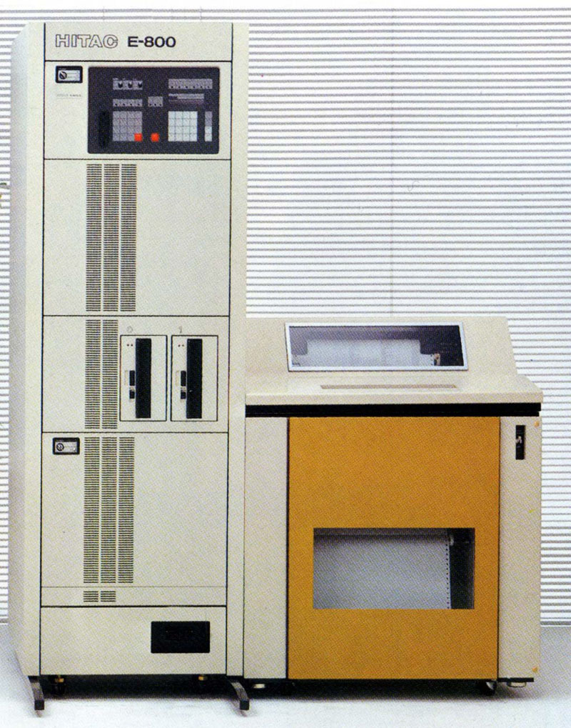 HITAC E-800シリーズ-コンピュータ ...
